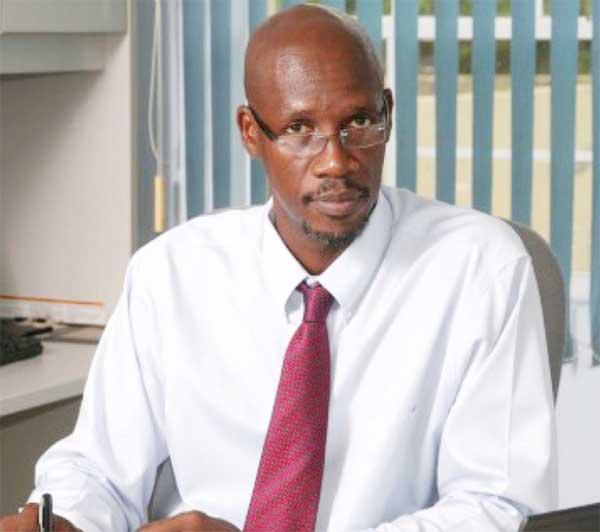 ECTEL Managing Director, Embert Charles