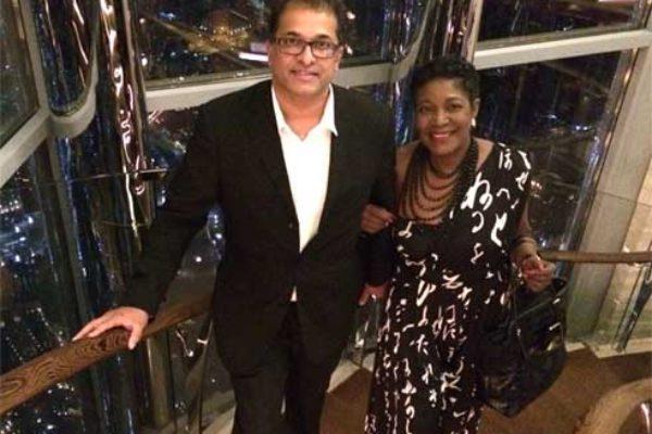 Ali and Parle in Dubai