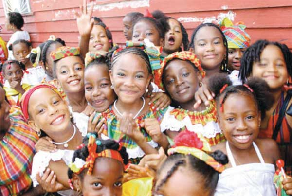 Image: Creole pageantry in Dominica