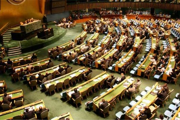 U.N. General Assembly in session