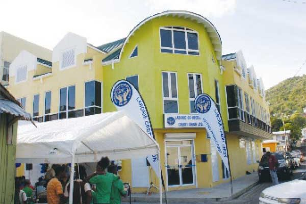 The new Laborie Co-operative Building.