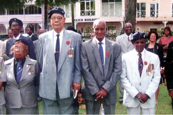 Image of some local war veterans.