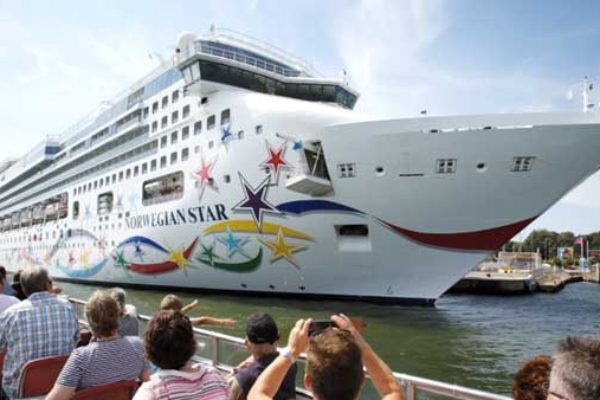 A Norwegian Cruise Liner