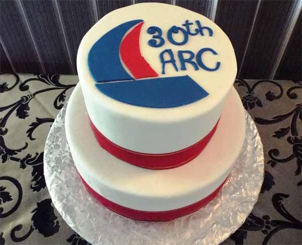 Image: A cake to celebrate ARC 30