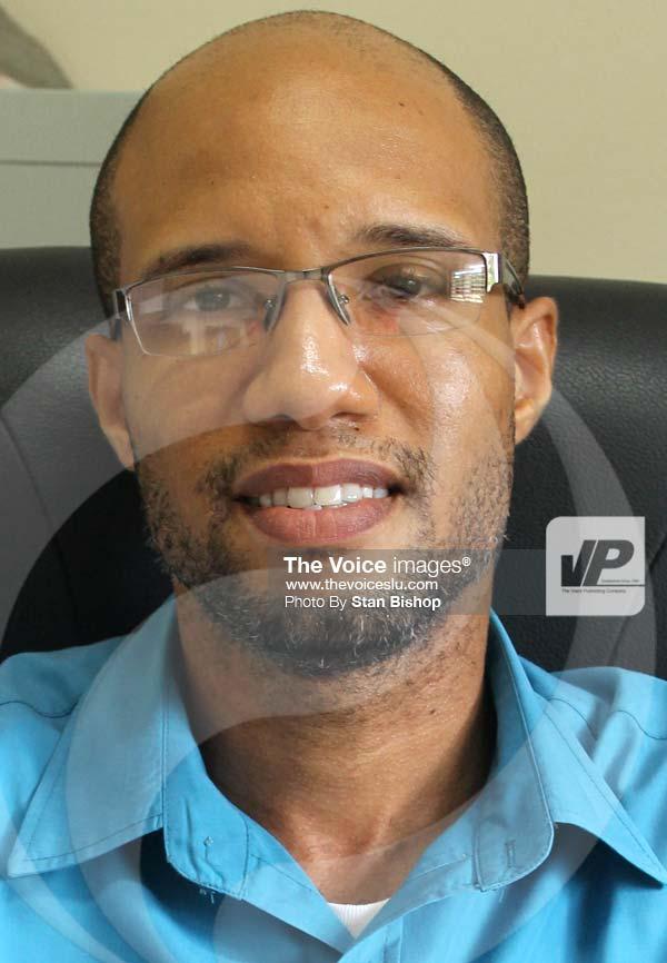 Image: Acting Vice-Principal, Marcellus Cazaubon. [PHOTO: Stan Bishop]