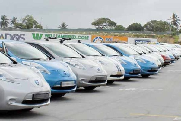 Image: Electric Vehicles in Barbados