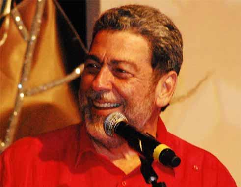 Image: St Vincent: Prime Minister Ralph Gonzalves