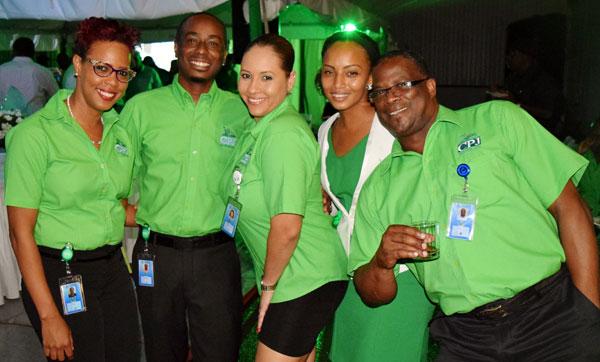 Image: Members of the sales team