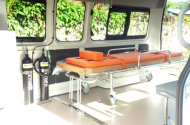 Image: An Inside view of the New ambulance