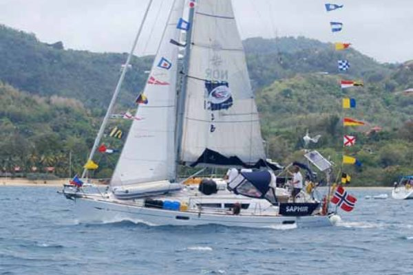Image: Saphir one of the many participating yachts in this years ARC. [Anthony De Beauville]