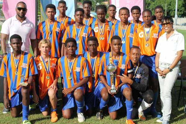 Image: Valley Soccer Academy Under 17 champions (PHOTO Castries Football Council)