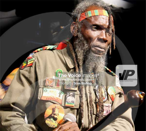 Image: Veteran musician, Ras Africa, says his best songs are yet to be written. [PHOTO: Stan Bishop]. [PHOTO: Stan Bishop]