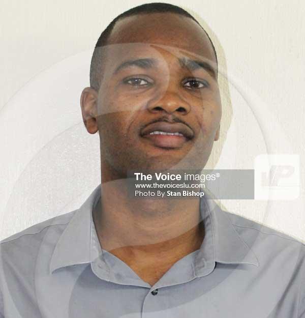 Image of Saint Lucian writer, Damian Femi Rene