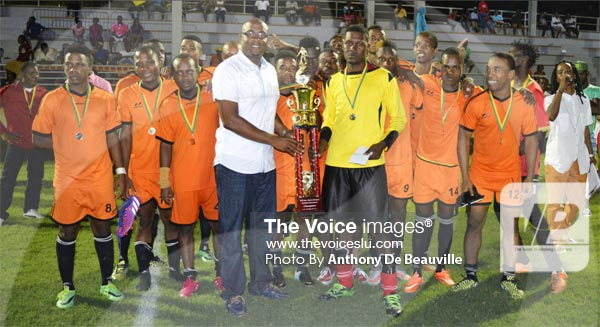 Image: Mabouya Valley/Shawn Edward football Champions Survivals. (PHOTO: Anthony De Beauville)