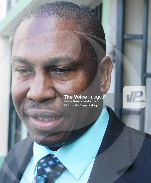 Image of Minister for Education, Dr. Robert Lewis. [PHOTO: Stan Bishop]