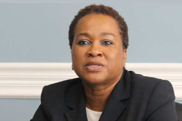 Image: Chief Executive Officer of the CIP Unit, Cindy Emmanuel-McLean.