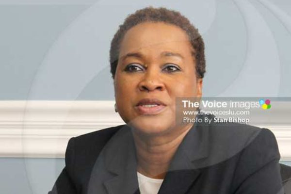 Image: Chief Executive Officer of the CIP Unit, Cindy Emmanuel-McLean. [PHOTO: Stan BishAop]