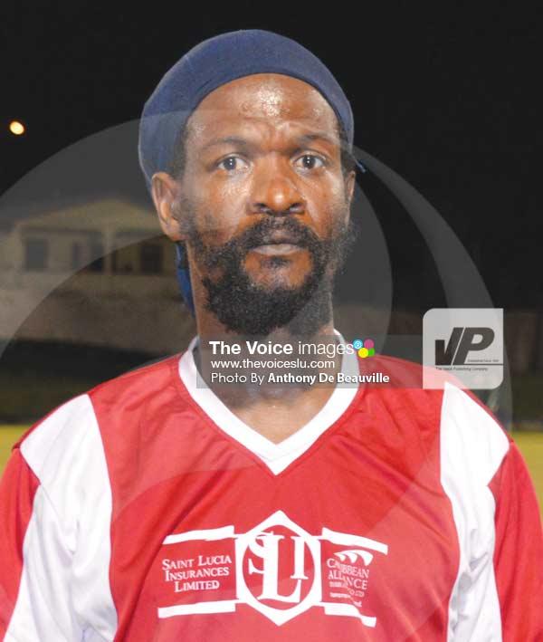 Image: Congorians scorer Kenton Vitalis (Photo Anthony De Beauville)
