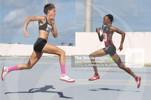 Image: (L-R) JeannelleScheper and Levern Spencer (Photo By Anthony De Beauville)