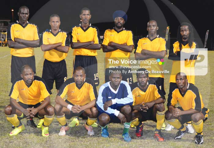 Image: Soufriere Veterns 2 -1 over Caricom Masters (Photo Anthony De Beauville)