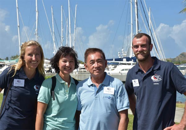 The crew from Kristal © WCC / Lucia Ivanissevich