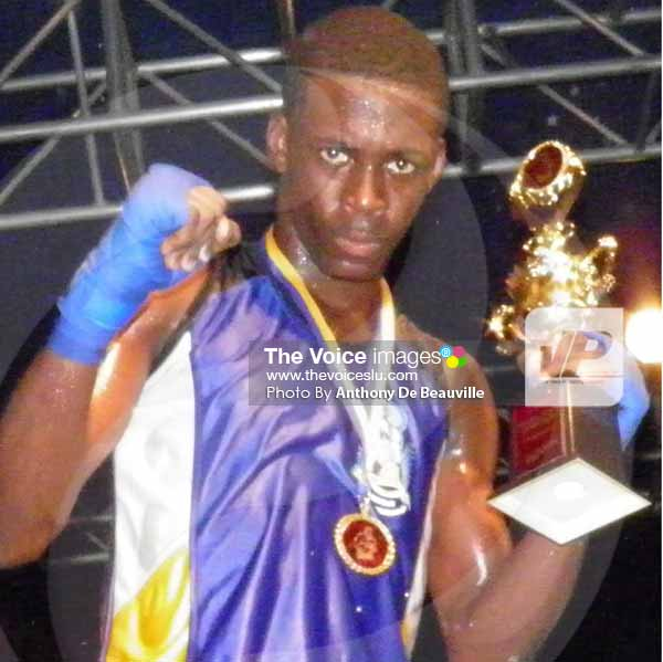 Image: Boxer of the Year LyndelMarcellin [PHOTO: Anthony De Beauville]