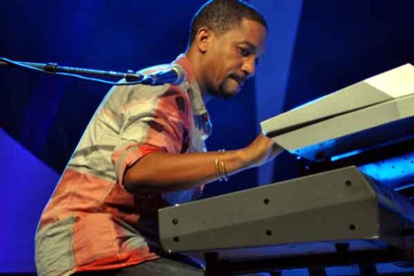 Image: Richard Payne at the Haiti Festival.