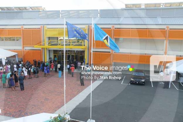 Image: The new Owen King EU Hospital at Millennium Heights. [PHOTO: Stan Bishop]