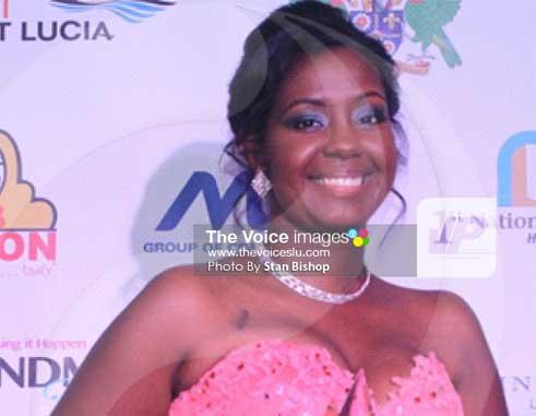 2016 St. Lucia Business Awards Entrepreneur of the Year, Julianna Ward-Destang. [PHOTO: Stan Bishop]