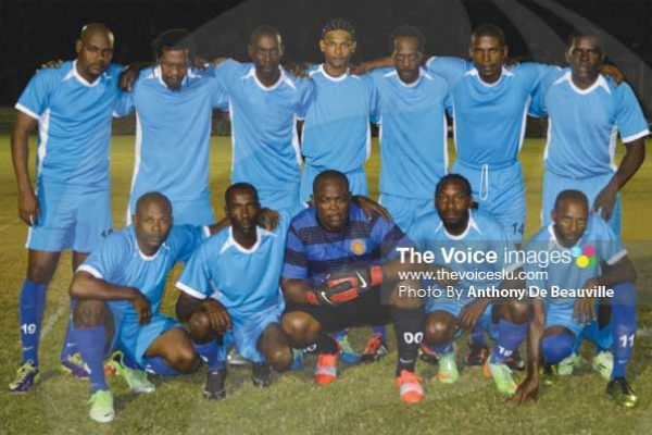 Image: Mabouya Valley had a hard fought 3-2 victory over Dennery All Blacks (Photo Anthony De Beauville)