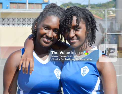 SJC twin sisters Kait and Kaitlyn will create history when they play the final on Friday. [Photo By Anthony De Beauville]