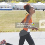 Image: Three gold medals for KamillahMonroque representing Rockets Athletics Club (PHOTO: Anthony De Beauville))