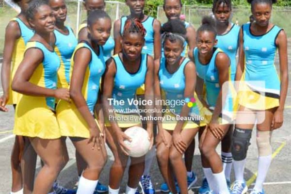 Team St. Lucia [PHOTO: Anthony de Beauville]