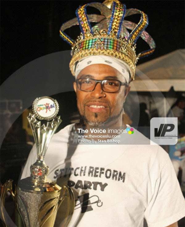 Image: Defending calypso monarch, Walleigh. [PHOTO: Stan Bishop]