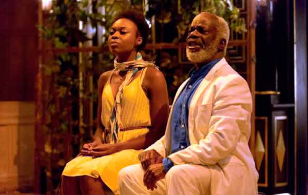 Image: Joan Lyiola and Joseph Marcell