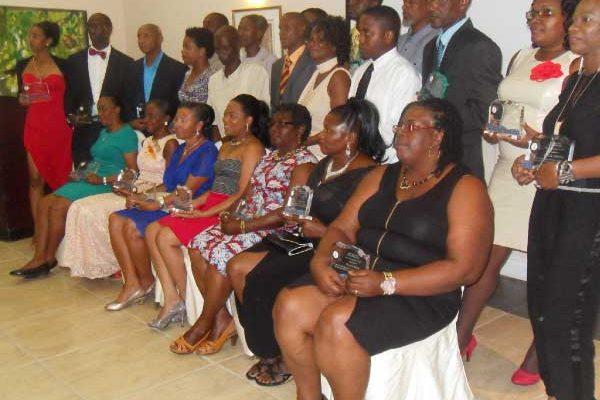 Image: NWU awardees on Labour Day