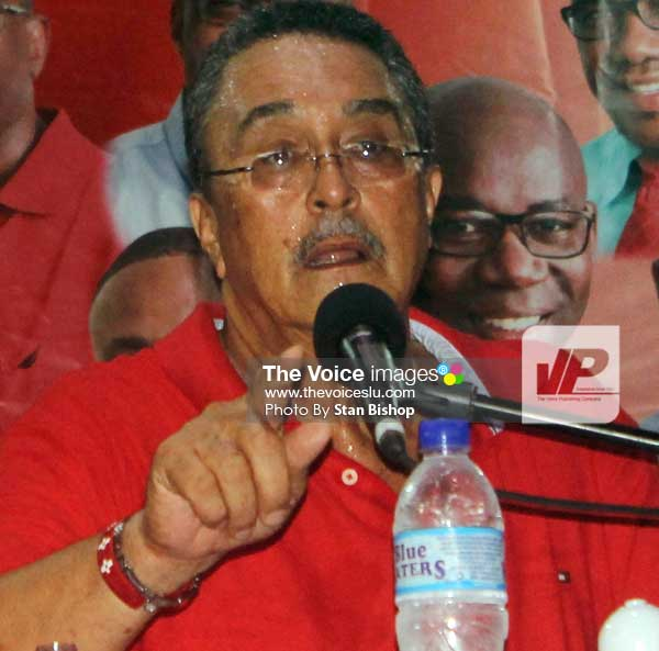 Image: Prime Minister Dr. Kenny Anthony. [PHOTO: Stan Bishop]