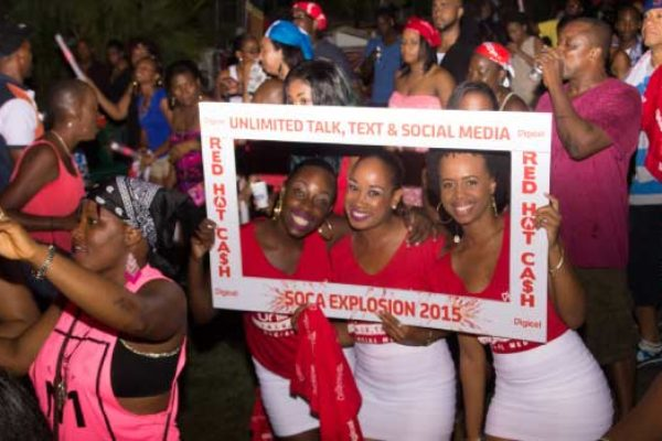 Image: Section of the crowd at Soca Explosion 2015