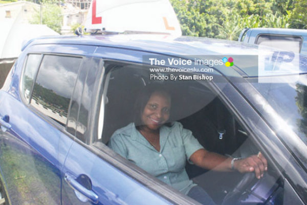 IMG: Meet One of St. Lucia's Five Female Driving Instructors (Photo Stan Bishop)
