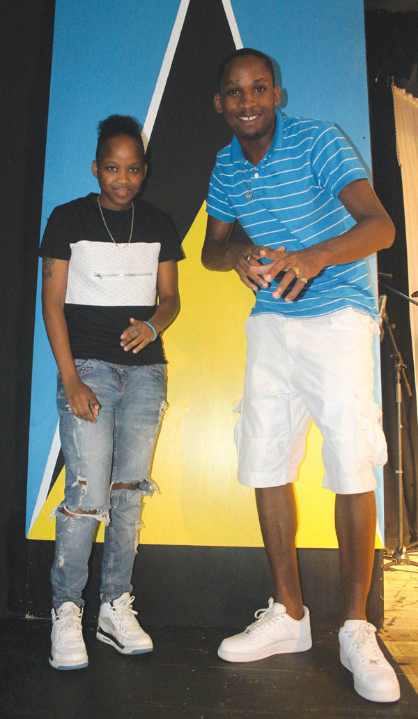 Jay and Bronxx say they're aiming to leave their musical mark on the soca scene. [PHOTO: Stan Bishop]