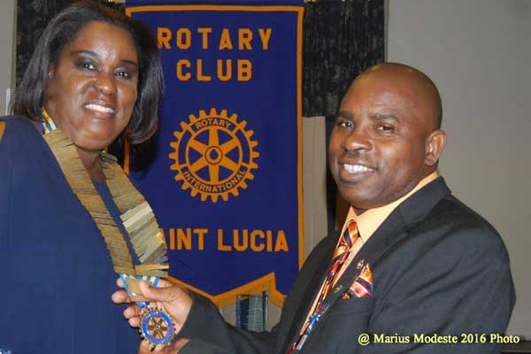 img: Selma St. Prix takes over Rotary