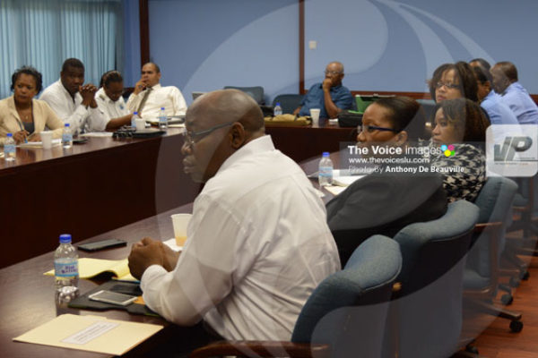img:Some of the participants at the workshop on day 1 [PHOTO: Anthony De Beauville]