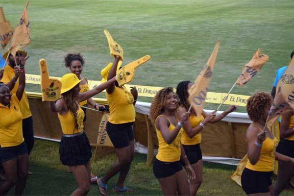 Image: El Dorado Cheerleaders at this year's CPL