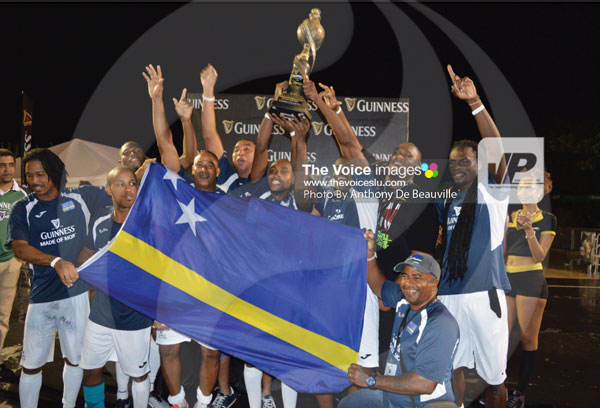 img:2016 champions Respect Boys from Curaco celebrates. (PHOTO: Anthony De Beauville)