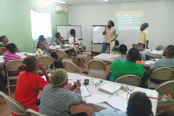 img: Farmer training workshop