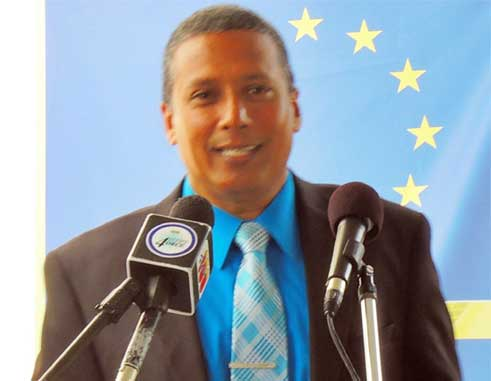 Image of Minister for Economic Development, Guy Joseph