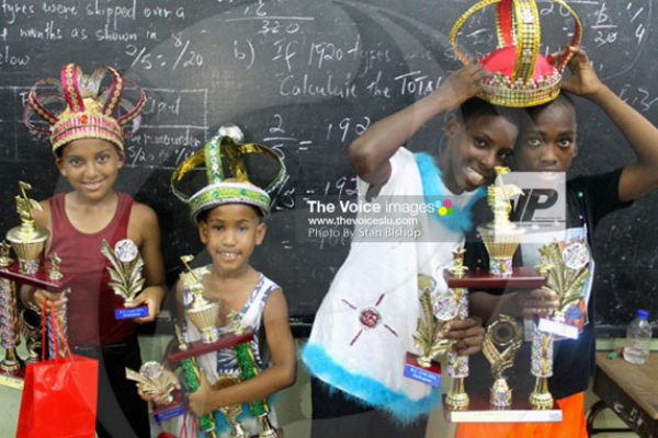 IMG:This year's RC Jam kings – Advisor, Skai, Arneze and Mini-Timi, proved to be quite a handful. [PHOTO: Stan Bishop]