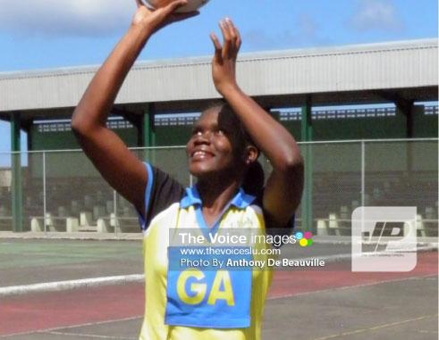 St. Lucia under - 23 captain IannaHippolyte. [PHOTO: Anthony De Beauville]
