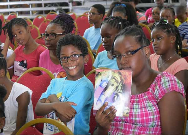 Image: Students at the opening of the summer programme
