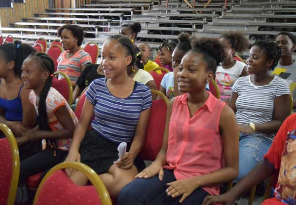 Image of Students at the opening of the summer programme